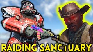 Fallout 4 Nuka World - Part 8 - RAIDING SANCTUARY