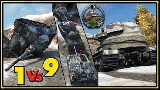 EPIC Enemy Fails - Pz.Kpfw. VII - 1 vs 9 - World of Tanks Gameplay