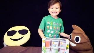 Play Doh Emojis /poop/cool/smiling face