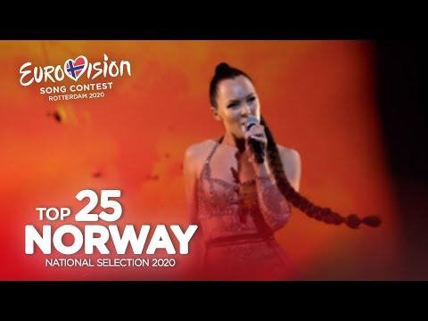 🇳🇴: Eurovision 2020 - Melodi Grand Prix 2020 - Top 25