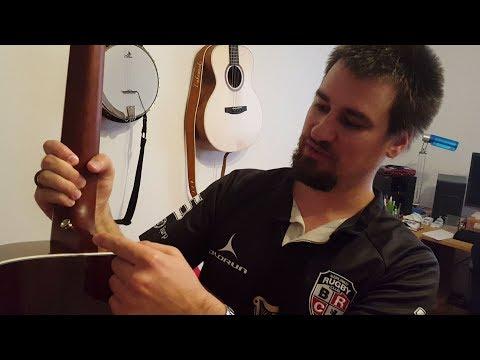 Gurtpin an Gitarre anbringen