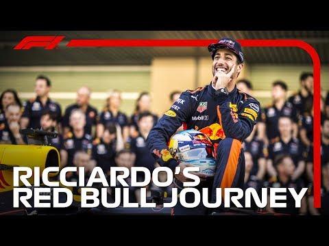 Daniel Ricciardo's Red Bull Journey
