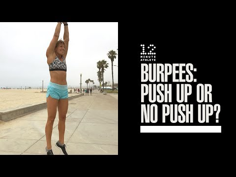 Burpee With Pushup