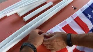 DIY: RV PVC Spinning Flag Pole