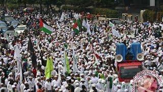 Jakarta Memanas Tolak Ahok Ribuan Umat Islam Demo Di Balai Kota Jakarta