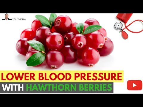 Video ???? How To Lower Your Blood Pressure Using Hawthorn Berries