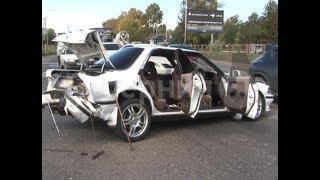 Две хабаровчанки пострадали во время столкновения четырех машин. Mestoprotv
