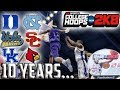College Hoops 2k8 10 Years Later The Greatest College B