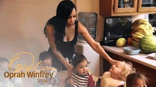 """""""Octomom"""" on the Everyday Chaos of Caring for 14 Children   The Oprah Winfrey Show   OWN"""