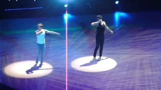 sytycd nyc tour Robert and Kent how it ends contemporary dance radio city 10.7.10