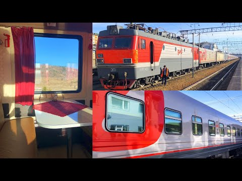 Trans-Siberian Railway Winter Journey - part 3: Chita - Ulan-Ude on Train № 099Э