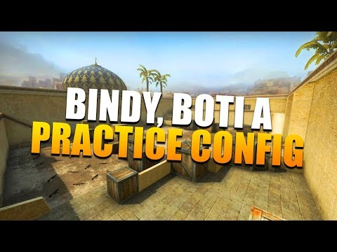 CS:GO - Bindy, Practice config, boti...