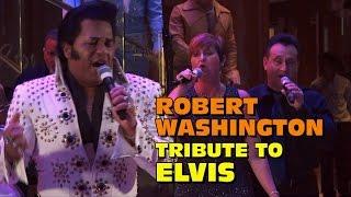 Mike Hall Video-Robert Washington Sings Elvis (2016 Cruise)