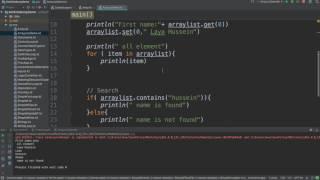 31-Kotlin for Beginners: ArrayList