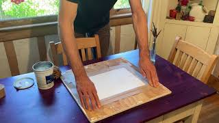How to Stretch Watercolor Paper PERFECTLY!