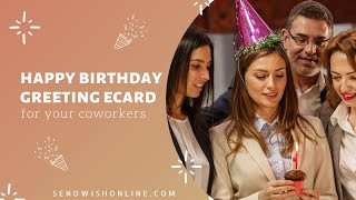 How to Create Happy Birthday Group Greeting Card | Send Wish Online