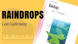 Raindrops by Lee Galloway