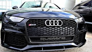 Audi RS7 Performance Package - Quick Review in 4K Ultra HD - by John D. Villarreal