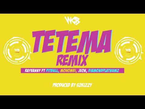 """Rayvanny Ft. Pitbull, Mohombi, Jeon & Diamond Platnumz – """"Tetema"""" (Remix)"""