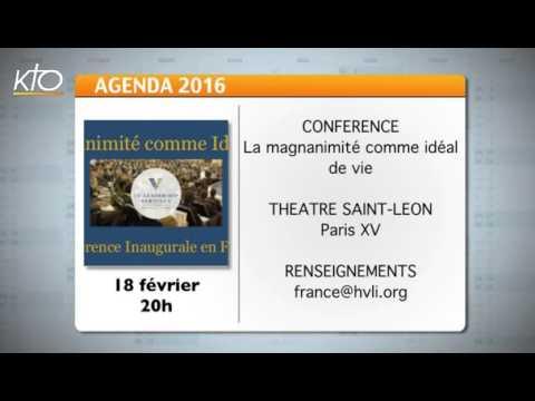 Agenda du 12 février 2016