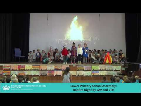 Lower Primary School Assembly - Bonfire Night by 2Av and 2TH
