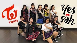 "TWICE""YES OR YES"" Dance Cover 【DWICE】#momodanceyesoryes"