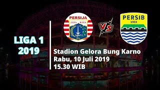 Live Streaming Liga 1 2019 Persija Jakarta Vs Persib Bandung Sore Ini Pukul 15.30 WIB