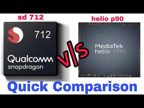 Mediatek Helio P90 vs Snapdragon 845 || Best smartphone processor in
