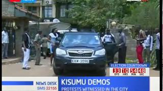 Kisumu chaos: Kisumu protests following women meeting