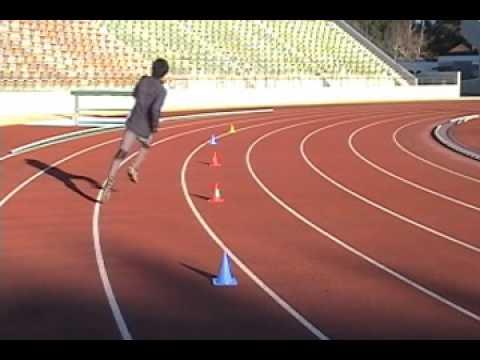 【スプリント能力向上】軸&バランス強化におすすめ!「スネーク走」