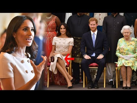 Here's why Meghan crossed her legs but it's perfectly regal today