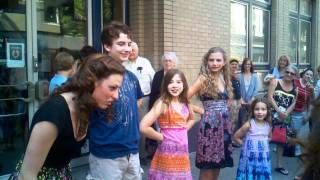 "Von Trapp Children Saying ""So long. . .Farewell"" After a Fantabulous 2 weeks @ The Benedum!"