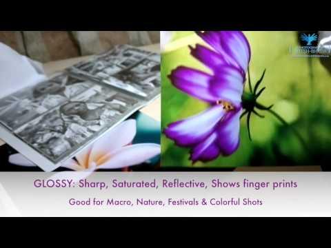 Glossy vs Matte vs Metallic Photo Prints