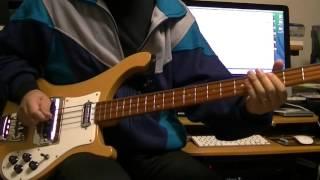 I want you (She's So Heavy) The Beatles Bass Cover Rickenbacker 4001