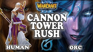 "Grubby | ""Cannon Tower Rush"" 