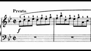 Scarlatti / Pamela Cook, 1967: Sonata in B flat major, L 500 / K 545