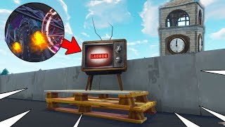 *LIVE* Countdown Till Rocket Destroys 'Moisty Mire'... RIP! (Fortnite Battle Royale)