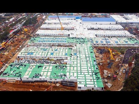 Kiinalaiset rakentaa sairaalan