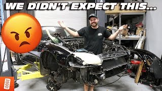 RAN INTO A HUGE UNEXPECTED PROBLEM WITH THE 3000GT VR-4!!!! (PULLED MOTOR)