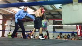 Southern Showdown Pro Boxing Championships - Ethan Clark Vs Barry Dudley - Boxing Video