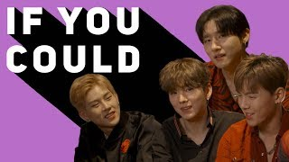 Video 'I'd walk around naked!': Monsta X get real as they play 'If You Could?' MP3, 3GP, MP4, WEBM, AVI, FLV Agustus 2019