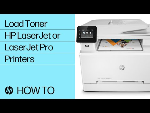 Installing toner cartridges in your HP LaserJet or LaserJet Pro printer