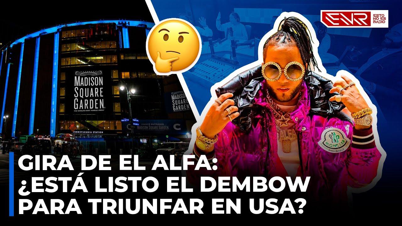 Gira de El Alfa: ¿Está Listo El Dembow Para Triunfar en USA?