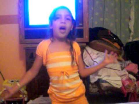 *funny little girl