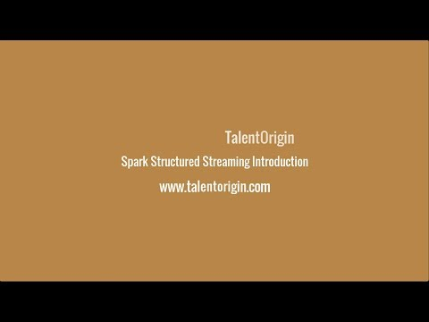 Spark Structured Streaming Introduction