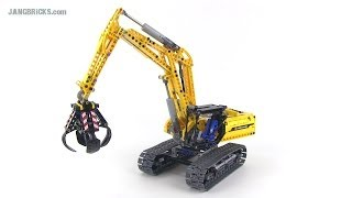 LEGO Technic 42006 Excavator set review!