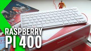 RASPBERRY PI 400 Review: MUCHO por MUY POCO