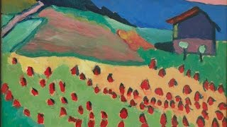 Gabriele Münter  - Kandinsky, Marc & Der Blaue Reiter