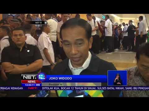 Presiden Hebohkan Pengunjung Mall Di Pekanbaru, Riau  -NET12