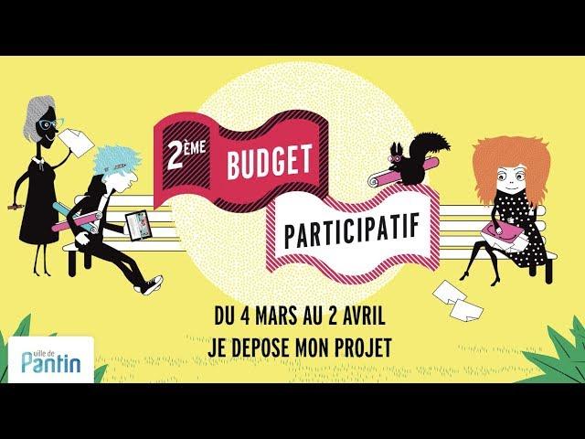 Budget participatif #2 : je dépose ! 2019 © ville de Pantin